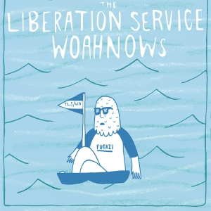 The Liberation Service/ Woahnows - Split 7 inch